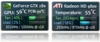 NVIDIA Sidebar Gadget - Screenshot 1