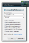 NVIDIA GPU Sidebar Gadget - Screenshot 1