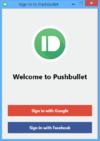 Pushbullet - Screenshot 1