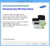Samsung Easy Wireless Setup - Screenshot 1