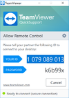 TeamViewer QuickSupport - Screenshot 1