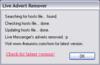 Windows Live Advert Remover - Screenshot 1