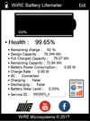 WiRE Battery Lifemeter - Screenshot 1