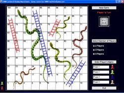 1888 Ladders & Snakes Board Game Screenshot