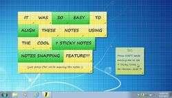 7 Sticky Notes Screenshot