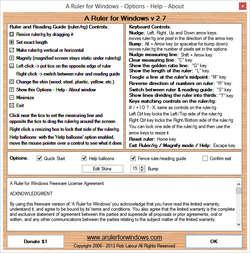 A Ruler for Windows Screenshot