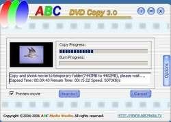 ABC DVD Copy Lite Screenshot