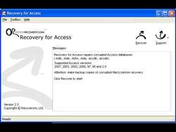AccessRecovery Screenshot