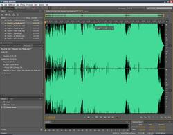 Adobe Audition Screenshot