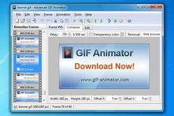 Adv GIF Animator Screenshot