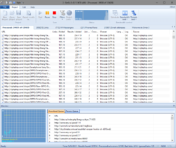 Advanced Email Extractor Screenshot