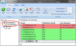 Advanced Email Verifier Screenshot