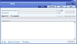 Advanced Excel Repair Screenshot