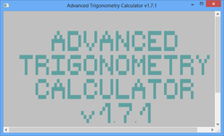 Advanced Trigonometry Calculator Screenshot