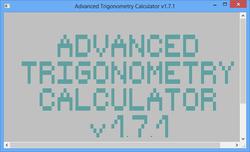 Advanced Trigonometry Calculator Screenshot