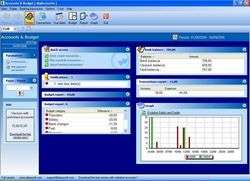 AlauxSoft Accounts and Budget Free Screenshot
