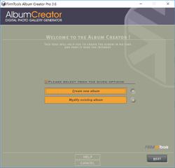 Album Creator Pro Screenshot
