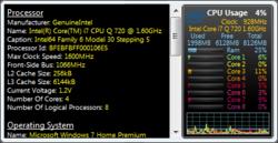 All CPU Meter Screenshot