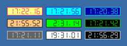 Alpha Clock Screenshot