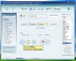 AlphaControls 2009 Screenshot