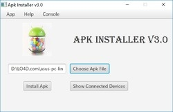Android Package Installer Screenshot