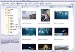 ArcSoft PhotoImpression Screenshot