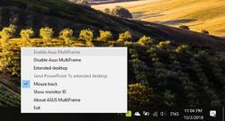 Asus MultiFrame Screenshot
