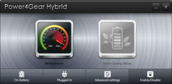 ASUS Power4Gear Hybrid Screenshot