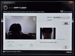 ASUS Smart Logon Screenshot