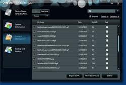 ASUS Sync Screenshot