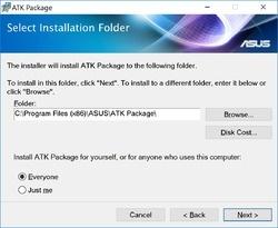 ATK Package Screenshot