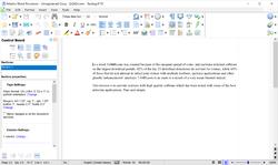 Atlantis Word Processor Screenshot