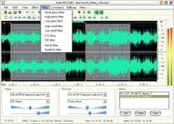 Audio Mp3 Editor Screenshot