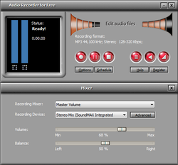 Audio Recorder for Free Screenshot