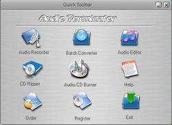 Audio Terminator Screenshot