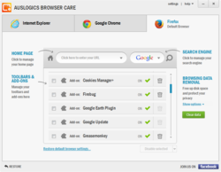 Auslogics Browser Care Screenshot