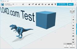 Autodesk 123D Design Screenshot