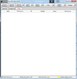 AV IP Utility Screenshot