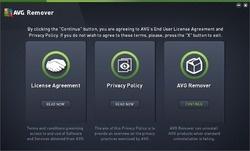 AVG Remover Screenshot