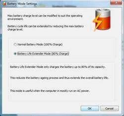 BatteryLifeExtender Screenshot