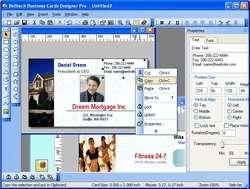 Belltech Business Card Designer Pro Screenshot