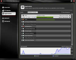 Bigfoot Networks Killer Network Manager Screenshot