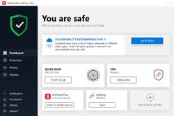 BitDefender Antivirus Screenshot