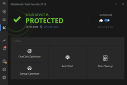 BitDefender Internet Security 2011 Screenshot