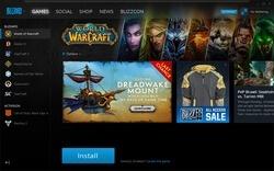 Blizzard App Screenshot
