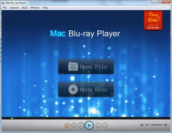 Blu ray Player for Windows Screenshot