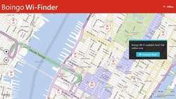 Boingo WiFinder Screenshot