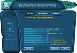 BPS Spyware and Adware Remover Screenshot