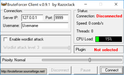 BruteForcer Screenshot