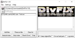 Budai DiVFix Screenshot